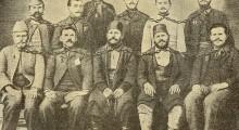 Група од заточеници во Диарбекир 1903/04 г.