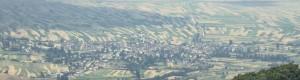 Кривогаштани гледано од страната на Крушево...