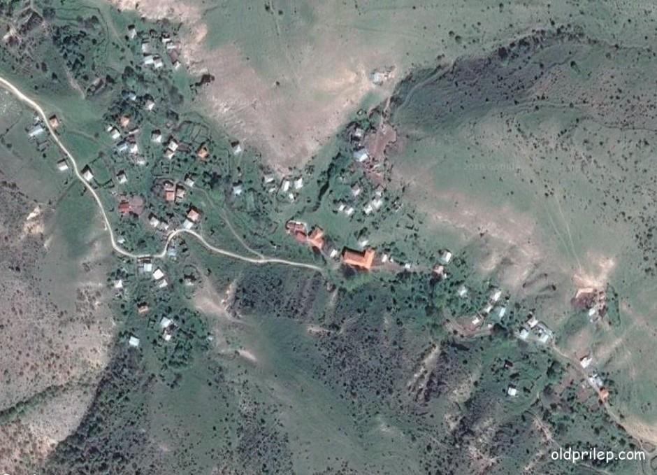 Сателитска снимка од Полчиште...