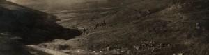 8 јуни 1918: Поглед од Селечка кон Мариово...
