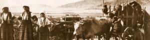 Прва светска војна: Пазарџии од прилепско се враќаат од пазар...