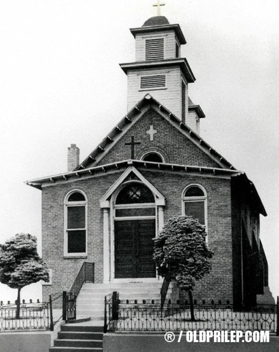 "Црквата ""Свето Благовештение"" во Steeltown, Pennsylvania."
