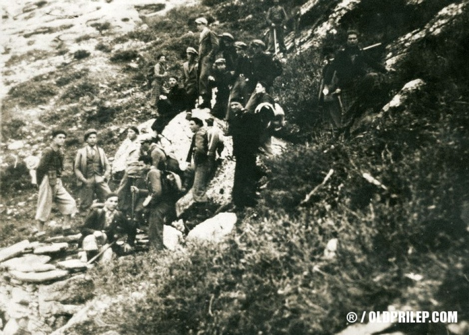 Годините на Втората светска војна: Младинци на планинарење...