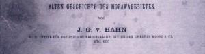 Патописот на Јохан Хан од 1858 година