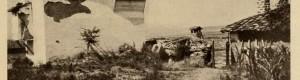 1917: Висока куќа во околината на Прилеп. Фотографија направена од експедицијата на германскиот зоолог Franz Doflein.