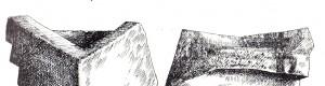 """Археолошки наоди од неолитската населба """"Радин Дол""""."""