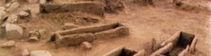 Тумул со гробови од локалитетот Страгата, преоден период од бронзено во железно време.