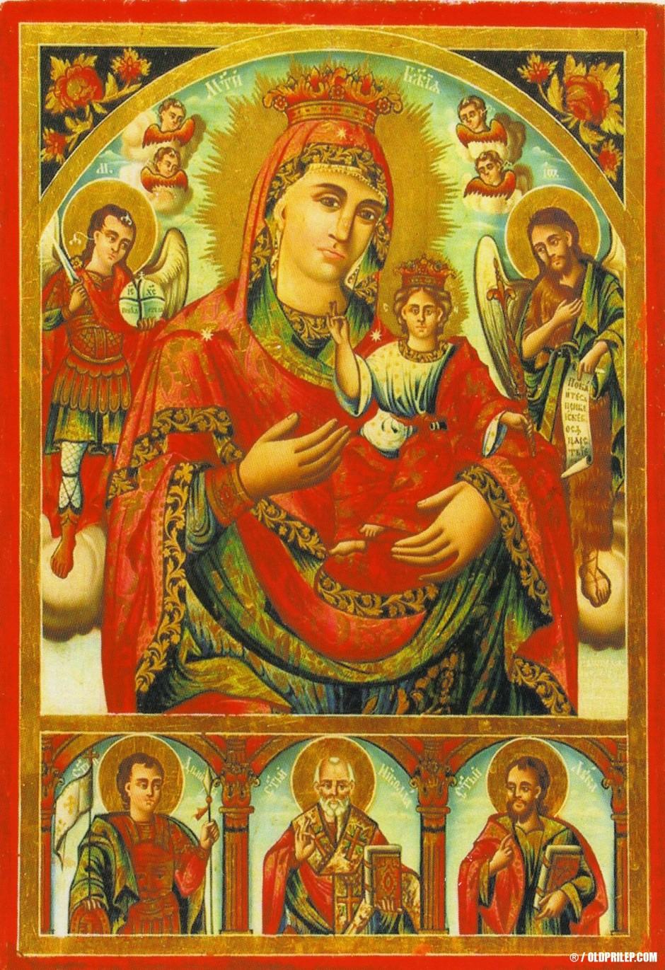 """Јован Атанасов-Прилепчанин: """"Пресвета Богородица со Господ Исус Христос"""""""