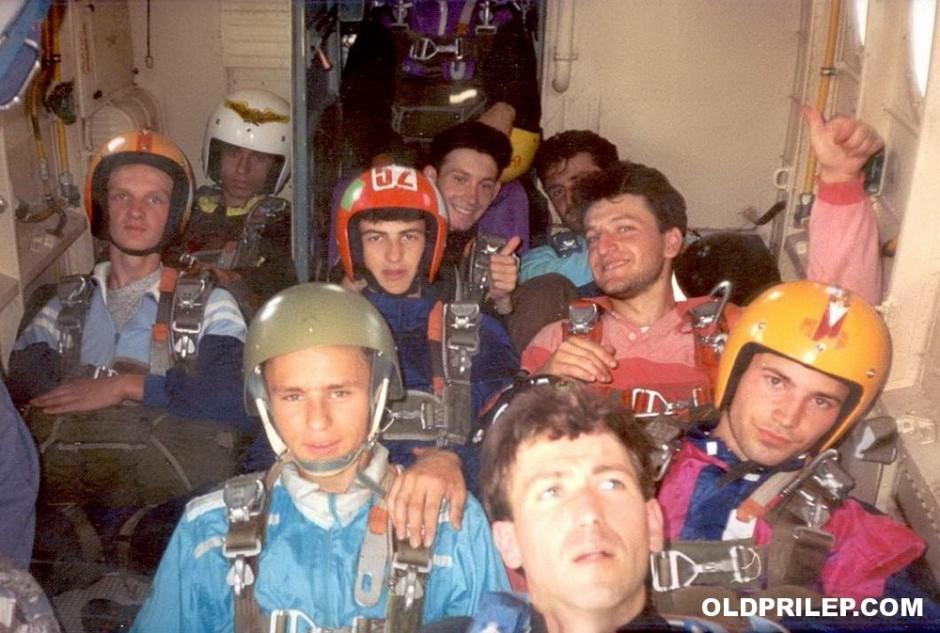 1994: Заедничка почетничка база на прилепскиот и битолскиот аеро клуб на аеродромот во Мало Коњари