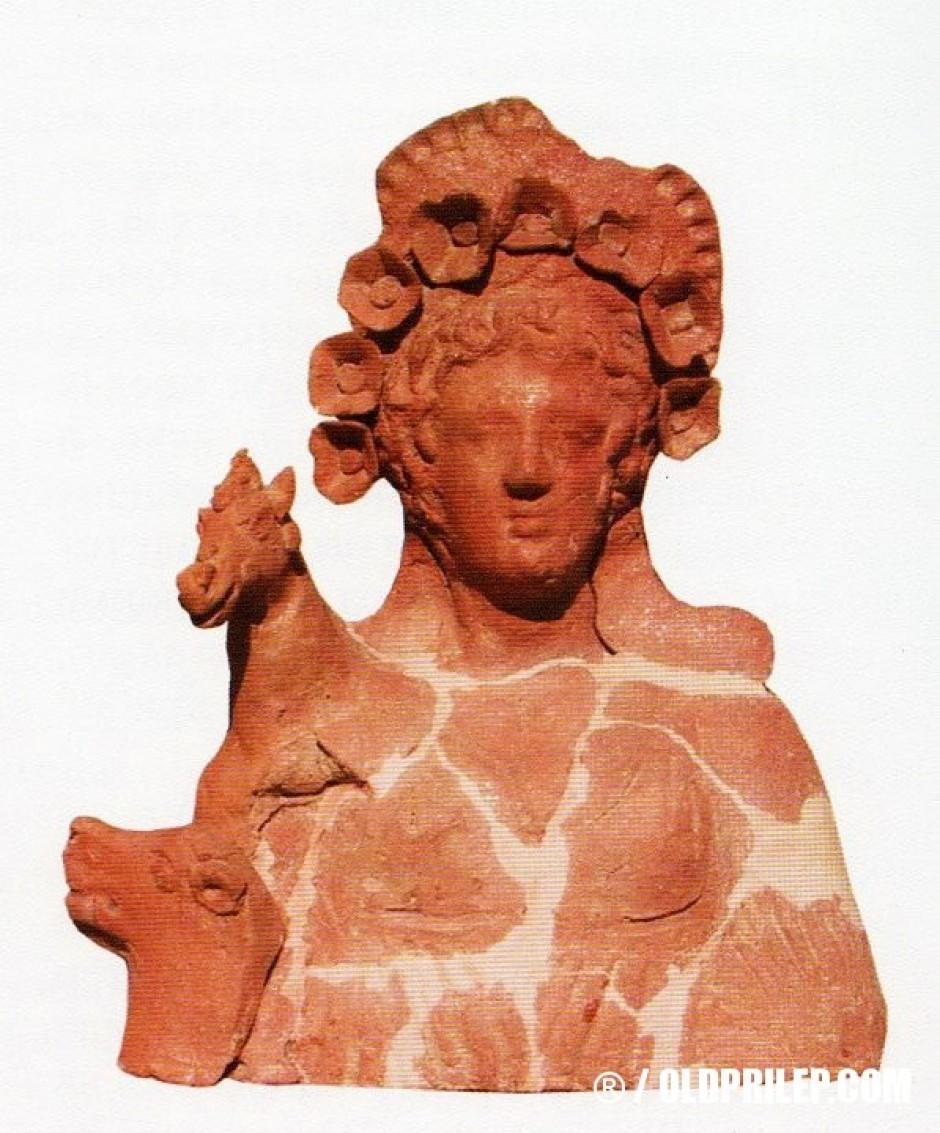 Артемида Енодија од локалитетот Градиште, во околината на село Дебреште, доцен хеленизам.