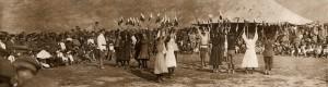 Воена церемонија на Централните сили во Прилеп...