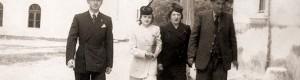 Борис со сопругата Вера, снаата Анастасија и свекорот Ицко...
