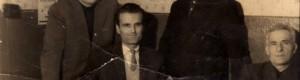 Шеесеттите години од минатиот век. Вработени во Архивот на град Прилеп.