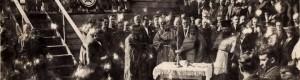 Ноември 1937: Осветувањето на темелите за Институтот за тутун