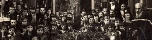 """1936: Детскиот хор во црквата """"Свети Кирил и Методиј"""" на Велики Петок"""