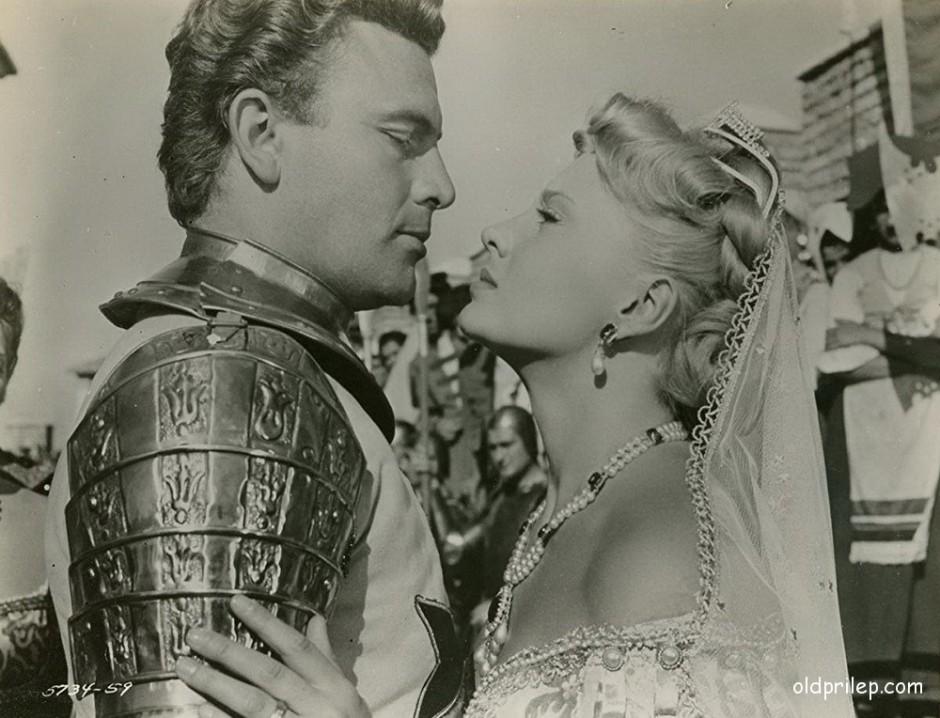 """1953: Пјер Кресој и Елен Реми во филмот """"Варвари"""""""